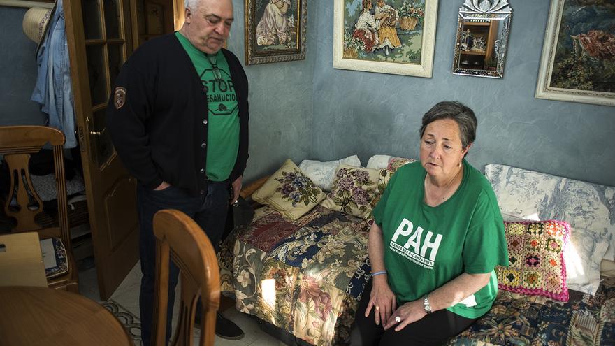 Aunque la salud se ha resentido por los años de lucha, Paco y Luci se sienten con fuerzas para defender la que ha sido su casa durante 62 años. | Fotos: JOAQUÍN GÓMEZ SASTRE
