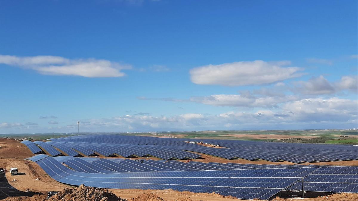 Planta solar fotovoltaica de Ibedrola en Barcience (Toledo)