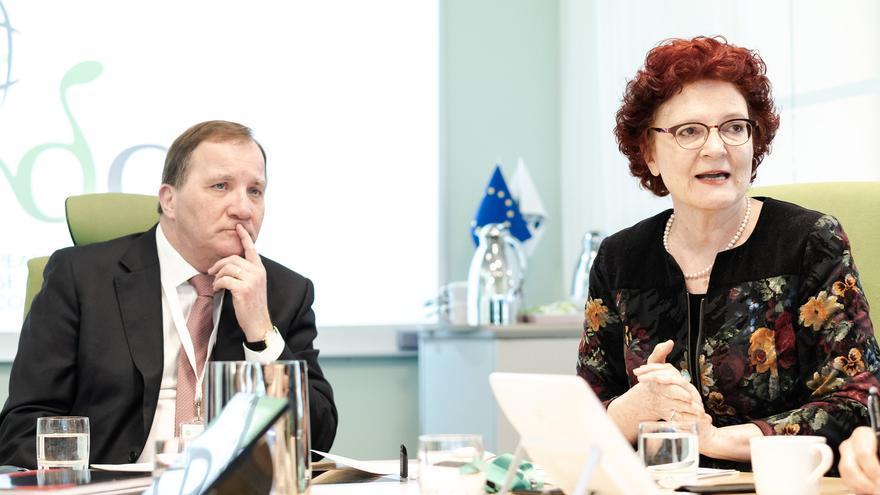 Andrea Ammon, directora del Centro Europeo para la Prevención y el Control de Enfermedades (ECDC).