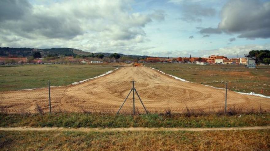 Imagen del lugar por el que discurrirá la senda peatonal de Vega Baja / Ayuntamiento de Toledo