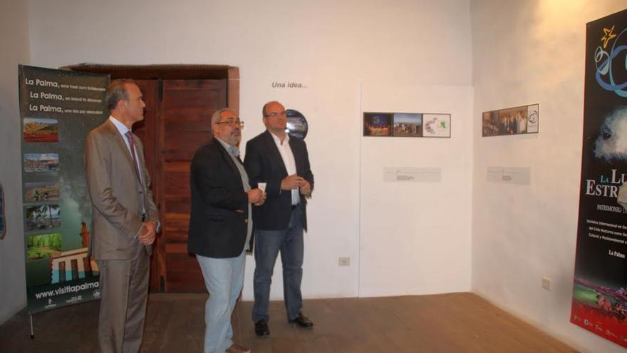 En la Casa Salazar, con motivo del octavo aniversario de la la 'Declaración Starlight'  de La Palma, se ha inaugurado una exposición.