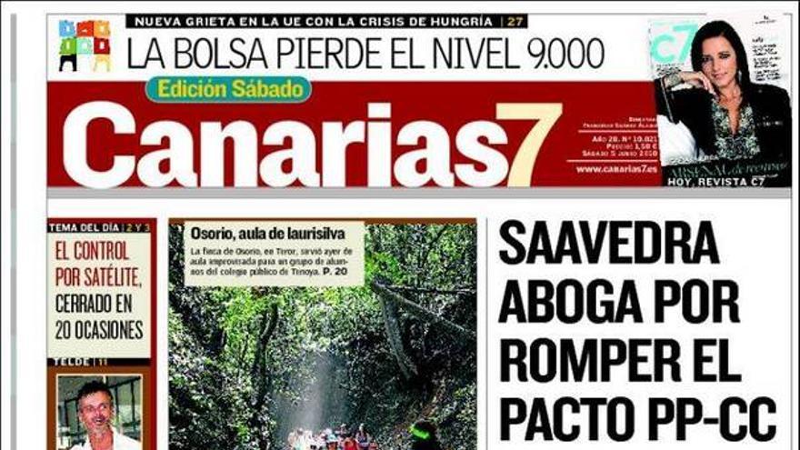 De las portadas del día (05/06/2001) #3