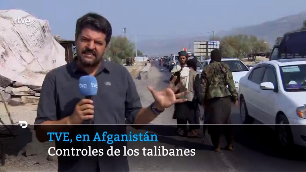 Luis Pérez en Afganistán
