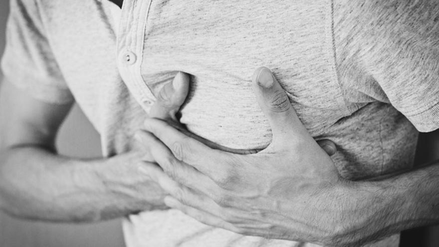 Los siete síntomas de que nos está dando un infarto de miocardio