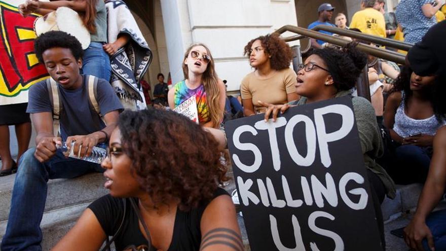 Protestas en EEUU contra la violencia policial