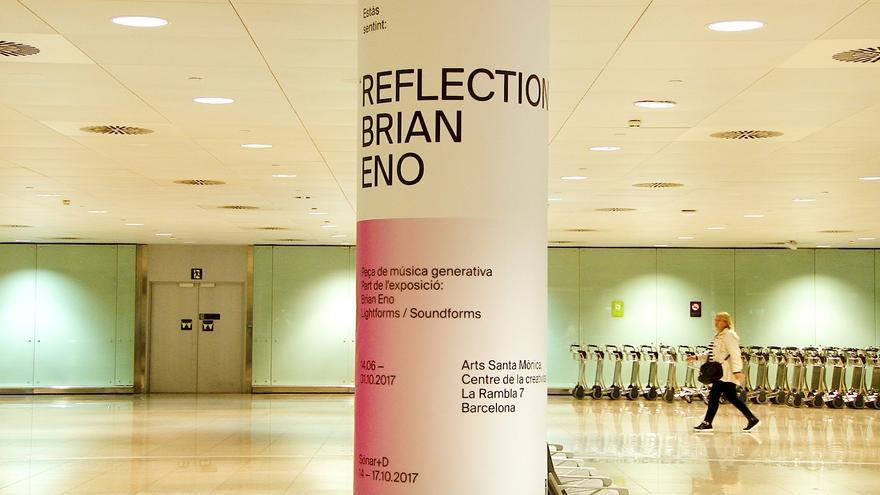 El Prat acoge una instalación de Brian Eno para 'Lightforms / Soundforms'