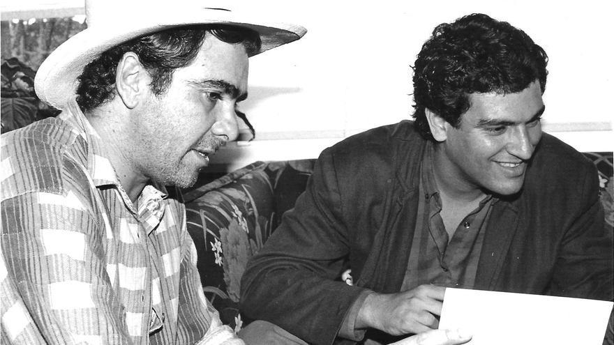 Pepe MacDonald y Cristóbal Peñate