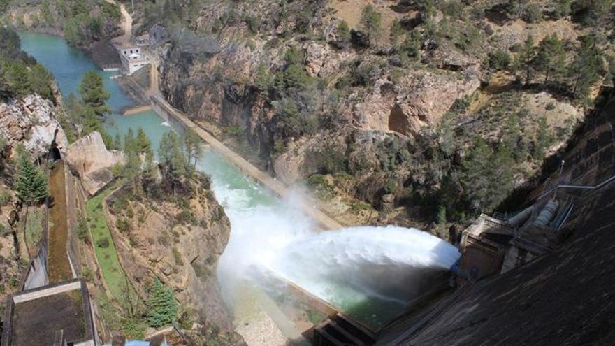Pantano de la Fuensanta, en Albacete FOTO: CHS