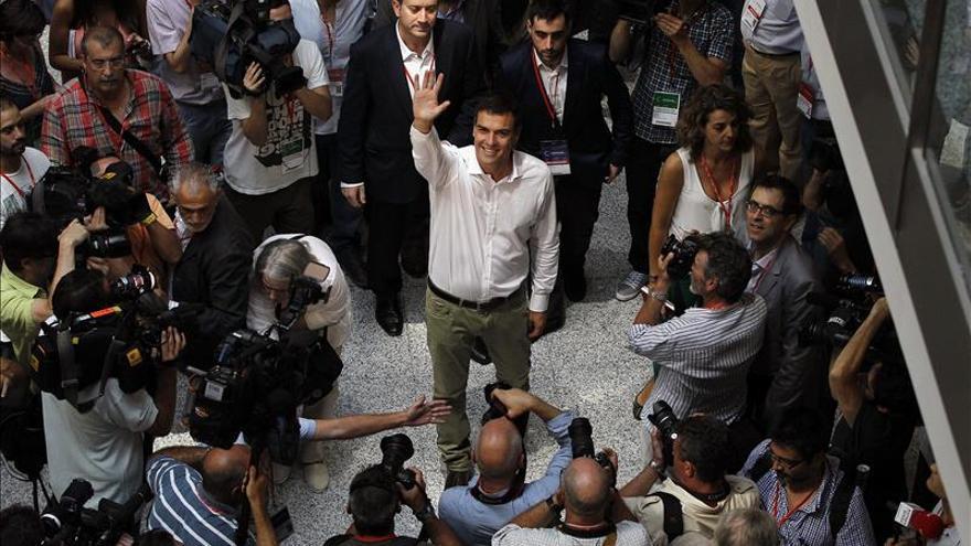 Constituido con mil delegados el congreso del PSOE que ratificará a Sánchez