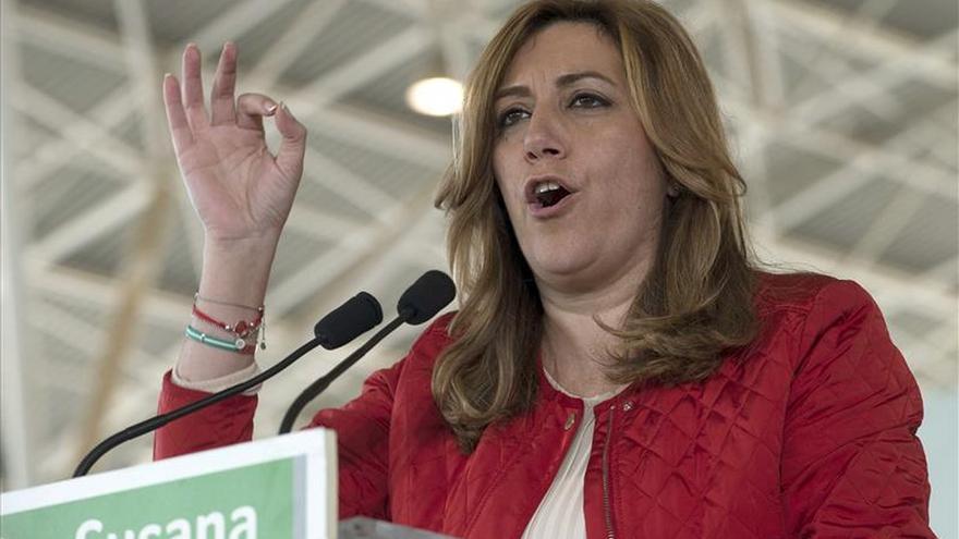Díaz propone al PP-A que llame a Rajoy para suprimir el aforamiento en toda España