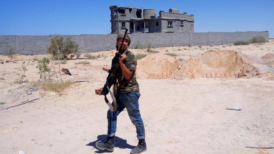 Mueren 22 soldados en el frente con el EI de la ciudad libia de Sirte