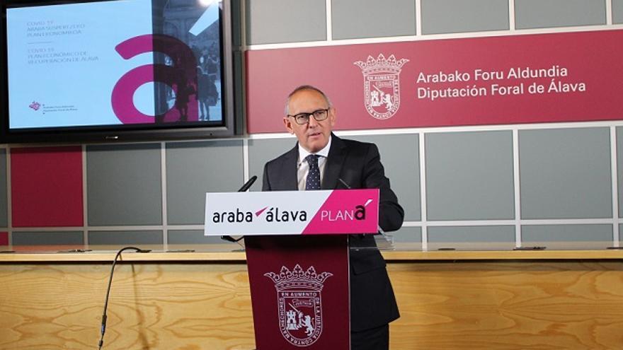 La Diputación de Álava movilizará 29 millones de euros a través de un plan de recuperación económica para el territorio