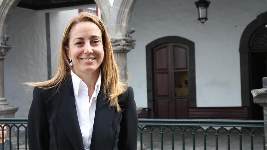 Marta Poggio, concejal de Fiestas de Santa Cruz de La Palma.