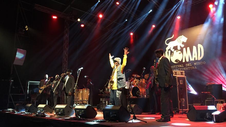 Orchestra Baobab en WOMAD Fuerteventura 2015 (IAGO OTERO PAZ)