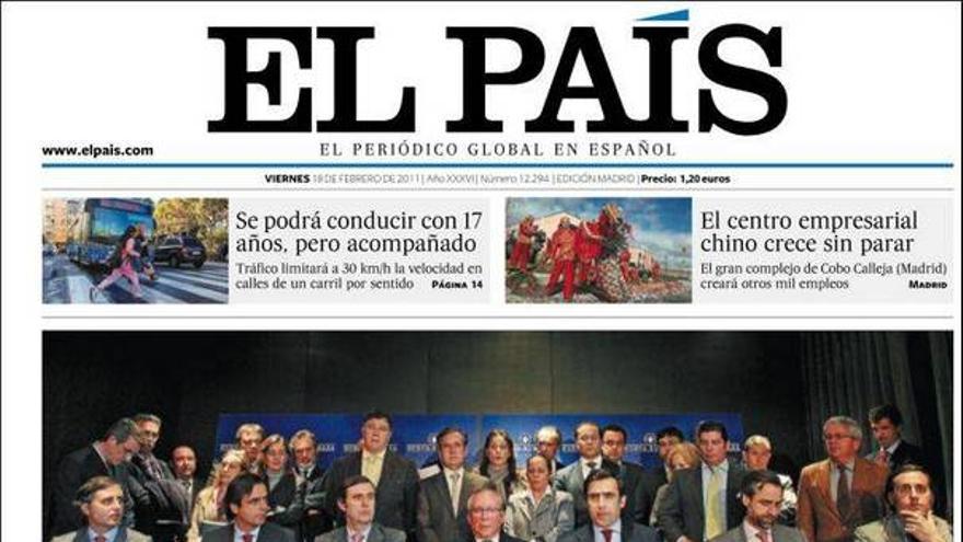 De las portadas del día (18/02/2011) #8