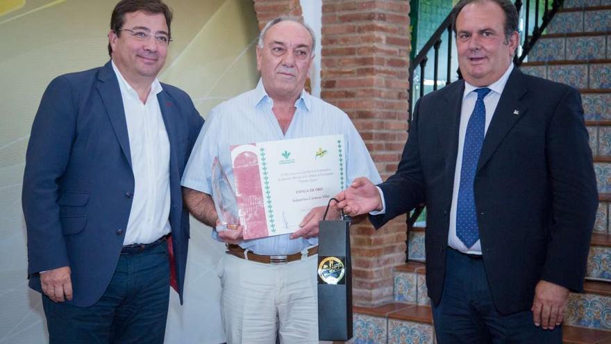 Vara Urbano Caballo Caja Rural Extremadura premios Espiga