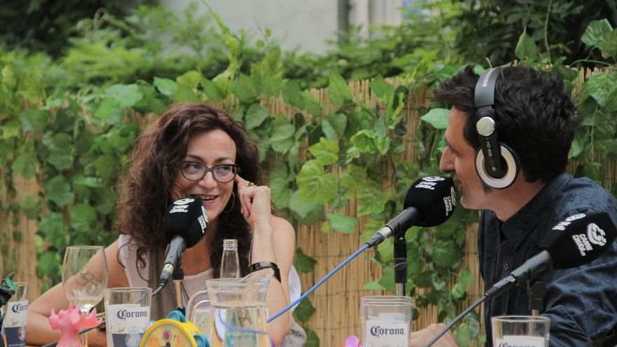Carmen París y Javier Gallego en Carne Cruda