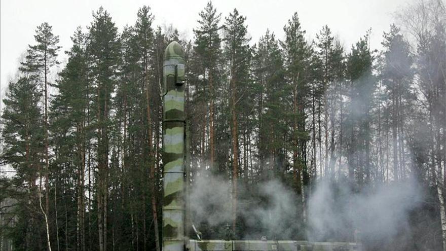 Rusia efectúa un lanzamiento de prueba exitoso de un misil intercontinental
