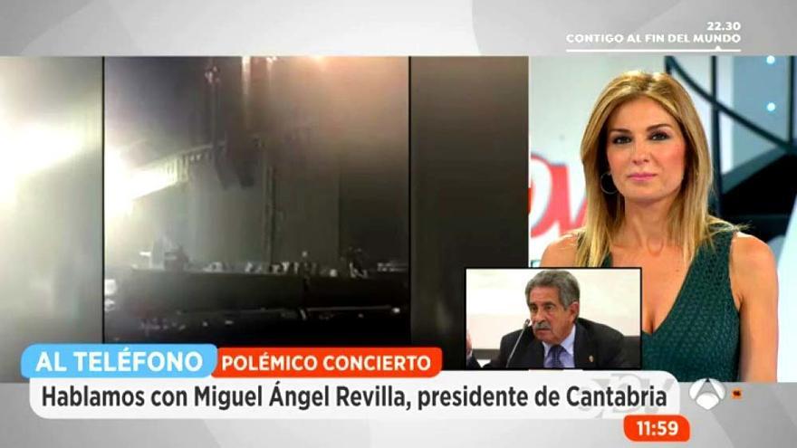 """Revilla carga contra Enrique Iglesias en Espejo Público: """"Anda escaso de voz"""""""