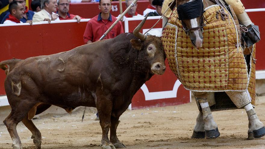 Plaza de toros de Pamplona 8. Sanfermines. Foto: Tras los Muros