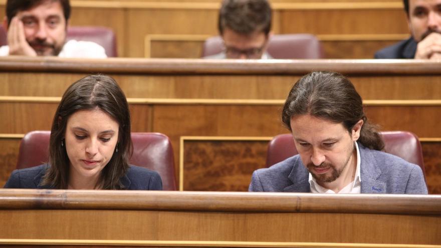 """""""España"""", la palabra más utilizada por Pablo Iglesias, mientras que Irene Montero se centra en la """"corrupción"""""""
