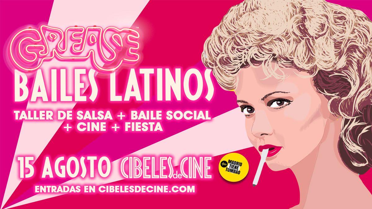 Programa de la Fiesta salsero-tropical + Grease | CIBELES DE CINE
