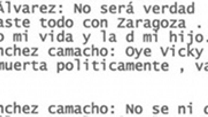 Álvarez sospecha que Sánchez-Camacho lo ha pactado todo con Zaragoza.