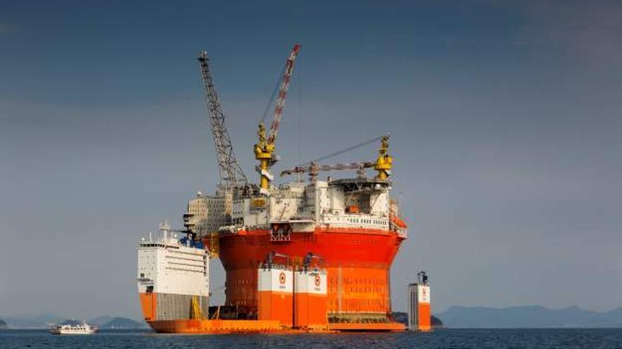 Plataforma Goliat, de la compañía italiana ENI