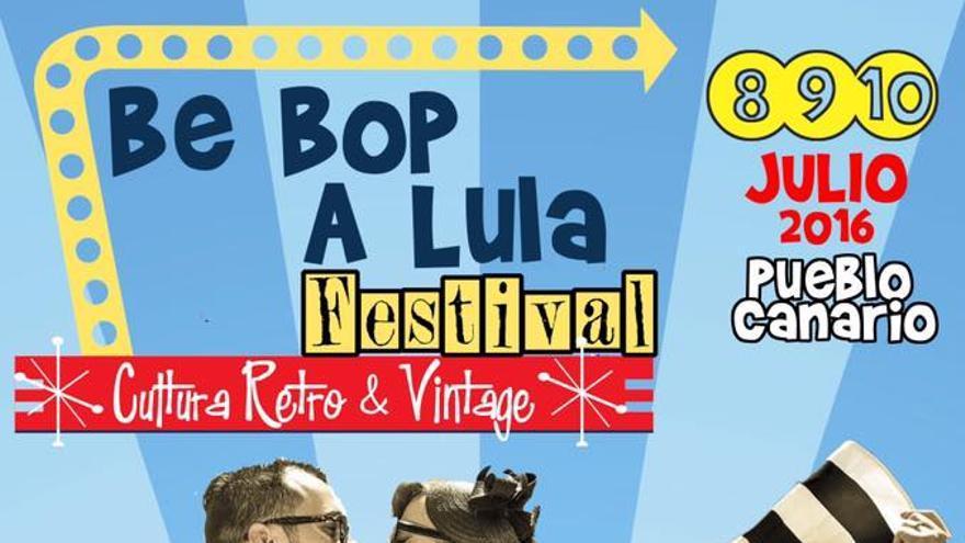 La primera edición del del Festival Be Bop A Lula de cultura retro & vintage reunirá a los amantes del rock este fin de semana en el Pueblo Canario .