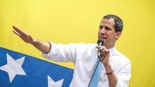 Guaidó reaparece en calles de Caracas tras las rumores de protección diplomática