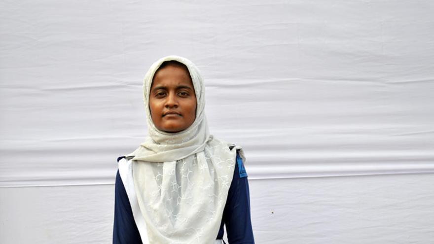 La joven Kohinur.