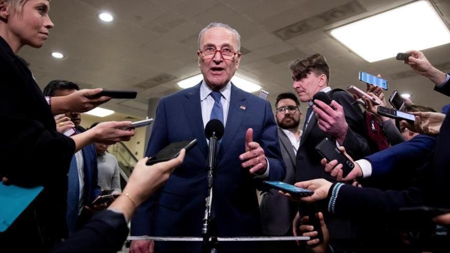 Senate Minority Leader Democrat Chuck Schumer.