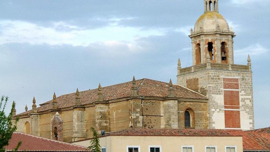 La Iglesia de San Andrés en Carrión de los Condes, Palencia.