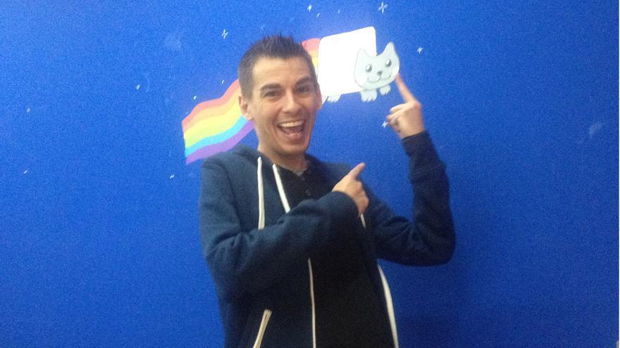 El informático Pablo Soto, creador de Blubster y ManolitoP2P