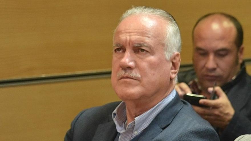 Manuel Báez, exalcalde de Firgas