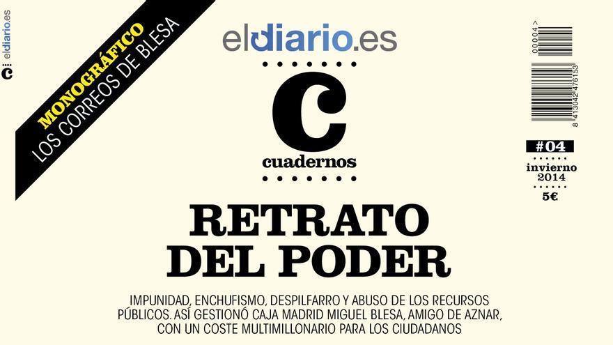 Portada del número 4 de la revista Cuadernos de eldiario.es.