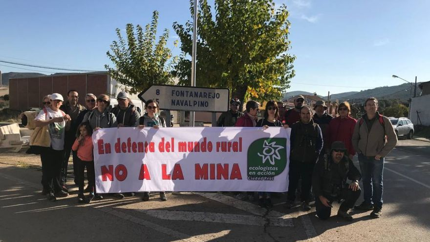 Marcha senderista 'No a la mina'