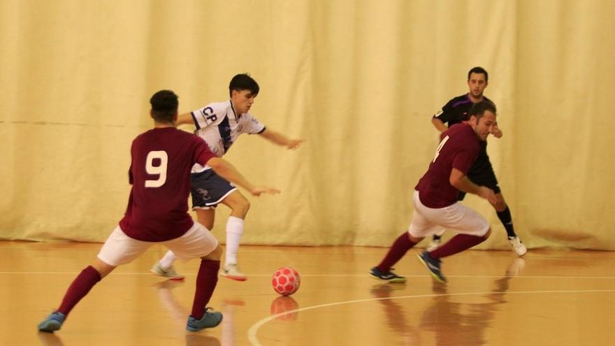Fútbol Sala: 'Totti', con la Sub 19 Andaluza