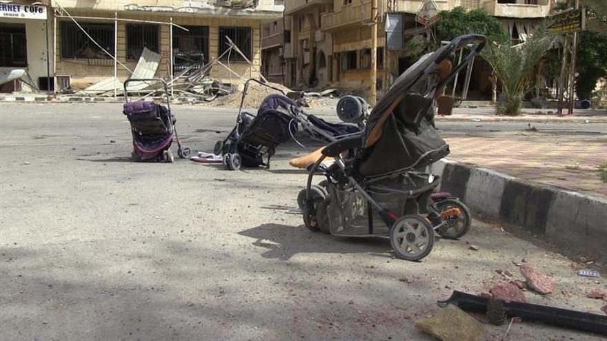 Más de 4.700 muertos en Siria en 19 meses de bombardeos de la coalición