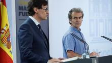 El brote en el límite entre Aragón y Catalunya, primer reto de coordinación para Sanidad tras el estado de alarma