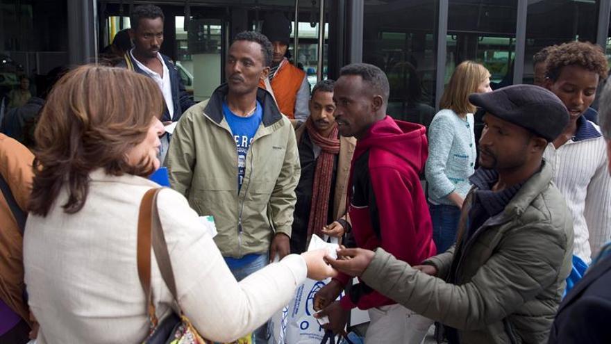 Mañana está prevista la llegada de 45 refugiados procedentes de Grecia