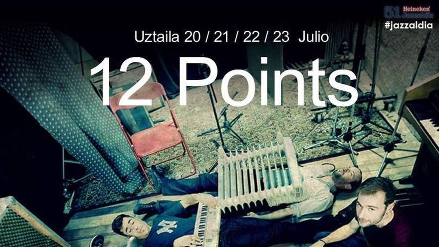 El festival europeo de jóvenes talentos del jazz 12 Points celebra su décima edición en San Sebastián