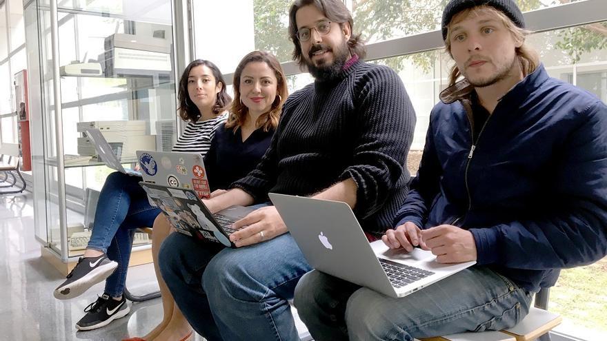Cuatro de los participantes en la jornada 'Whistleblowing' organizada por la Universitat Politècnica de València