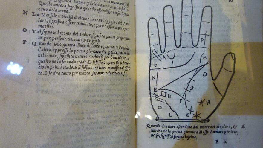 Tratado de quiromancia, de la 'Biblioteca de Barcarrota'