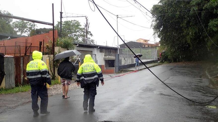 Ocho muertos y 17 desaparecidos en Costa Rica por las lluvias a causa de Nate