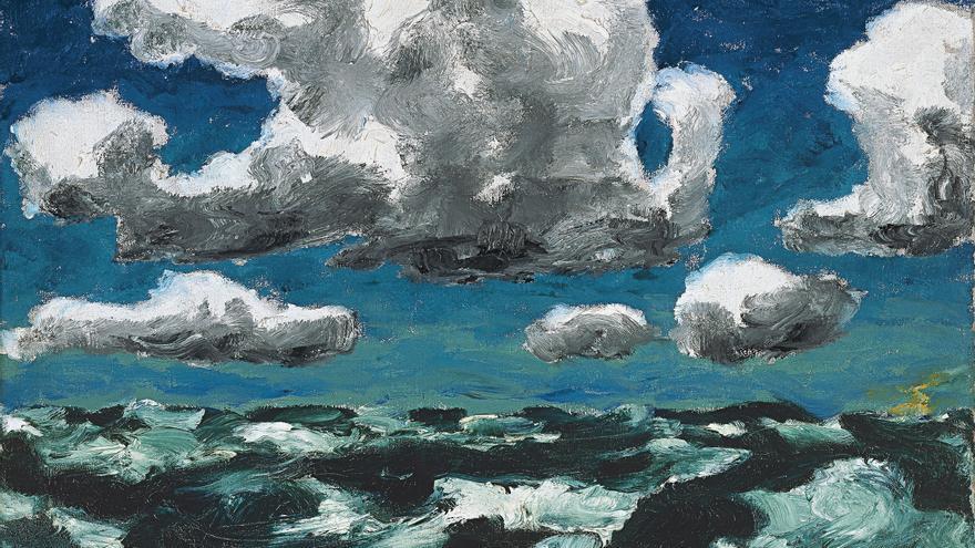 'Nubes de verano' (1913), de Emil Nolde