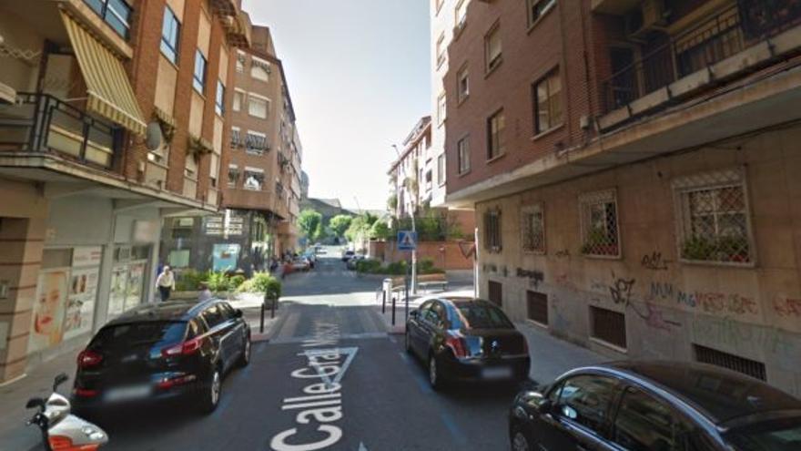 Calle Joaquina Santander de Talavera de la Reina / Google