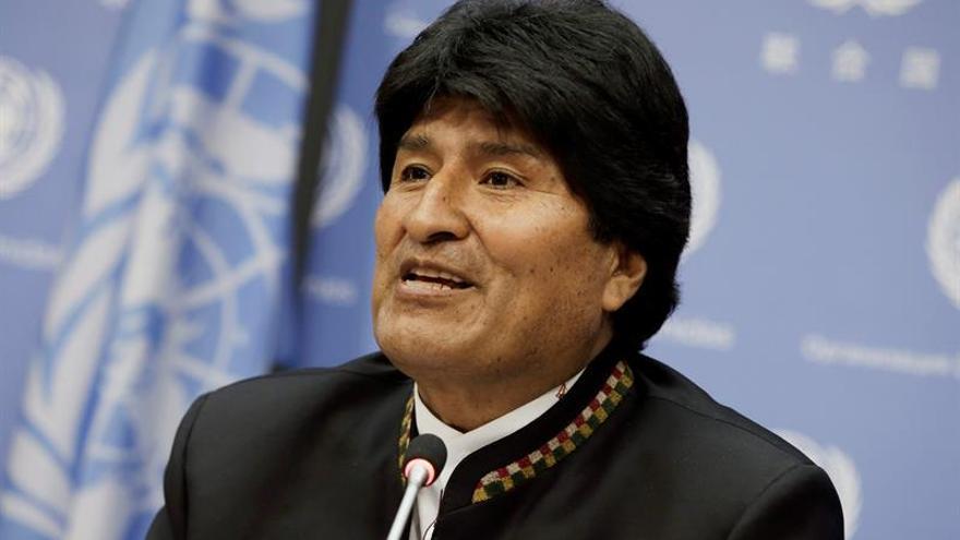 Morales denuncia que la falta de acceso al mar es una violación de los derechos de los bolivianos