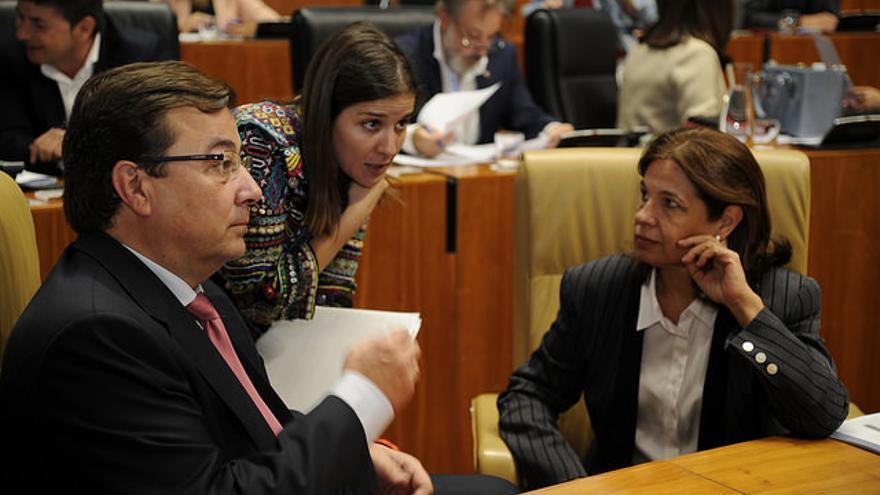 Vara Rosiña Blanco-Morales Asamblea Extremadura hemiciclo pleno
