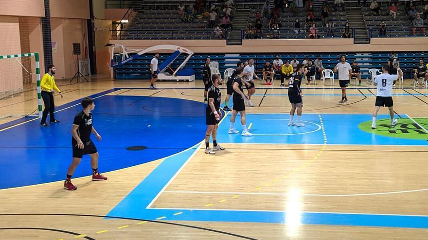 Imagen del primer partido de Primera Nacional del Pozoblanco | BM POZOBLANCO